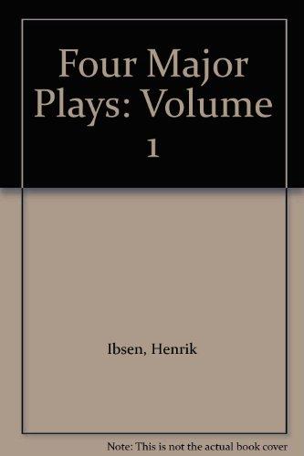 9780451510402: Four Major Plays: Volume 1