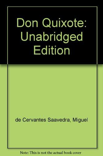 9780451512109: Don Quixote: Unabridged Edition