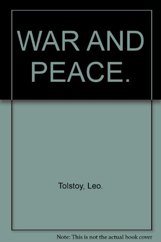 9780451512710: WAR AND PEACE.
