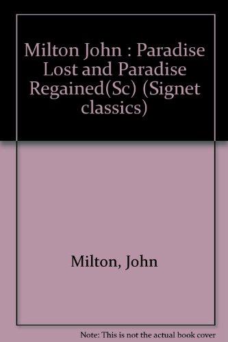 9780451512727: Paradise Lost (Signet classics)