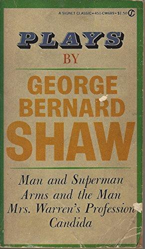 Plays by George Bernard Shaw: Shaw, George Bernard