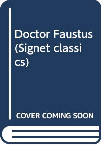Doctor Faustus: Christopher Marlowe