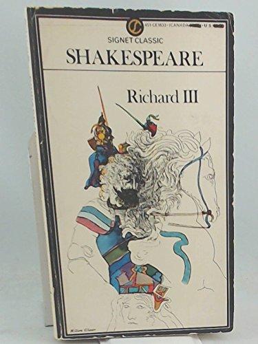 9780451518330: Shakespeare : Richard III (Sc) (Signet classics)
