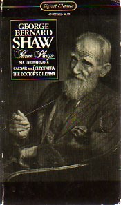 Three Plays: Shaw, George Bernard