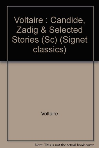9780451519801: Candide, Zadig, and Selected Stories (Signet classics)