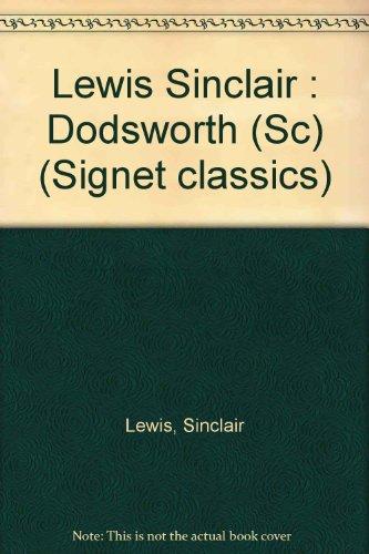 9780451520029: Dodsworth (Signet classics)