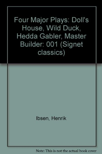9780451521040: Four Major Plays: Volume 1 (Signet classics)