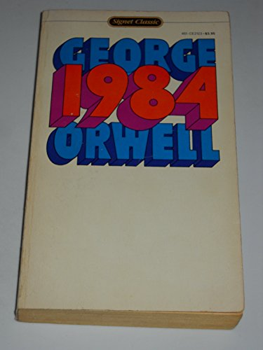 9780451521231: Orwell George : Nineteen Eighty-Four (Sc) (Signet classics)
