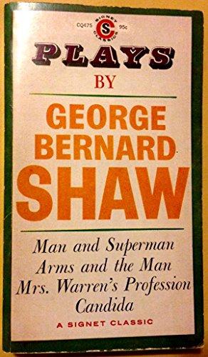 9780451522009: Shaw : Plays by George Bernard Shaw (Sc) (Signet classics)