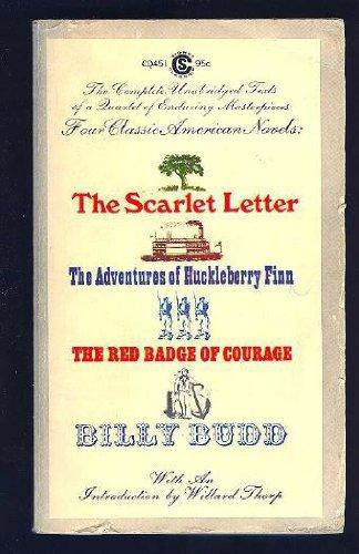 Four Classic American Novels : The Scarlet: Mark Twain; Herman