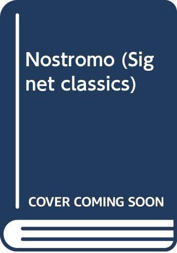 9780451523471: Conrad Joseph : Nostromo (Sc) (Signet classics)