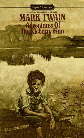 9780451523730: Twain Mark : Adventures of Huckleberry Finn (Sc) (Signet classics)