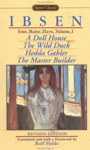 9780451524065: Four Major Plays, Vol. 1 (A Doll House / The Wild Duck / Hedda Gabler / The Master Builder)
