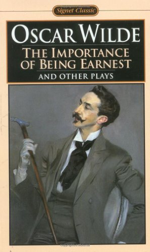 an analysis of oscar wildes play the importance of being earnest A critical analysis of the importance of being earnest, a play by oscar wilde.
