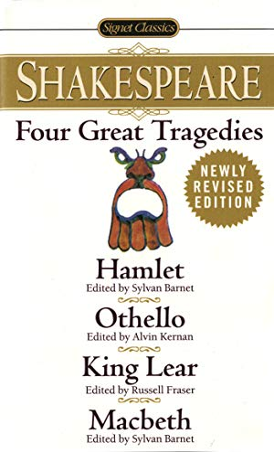 Four Great Tragedies: Hamlet, Othello, King Lear,: William Shakespeare