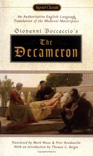 The Decameron (Signet Classics): Giovanni Boccaccio; Translator-Mark Musa; Translator-Peter ...