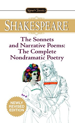 9780451530899: The Sonnets and Narrative Poems: The Complete Nondramatic Poetry (Signet Classics)