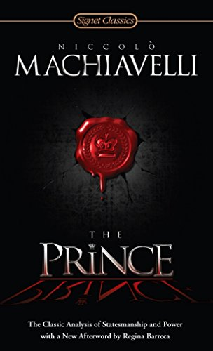 9780451531001: The Prince: The Classic Analysis of Statesmanship and Power