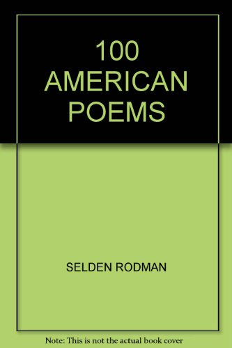 9780451601865: 100 American Poems