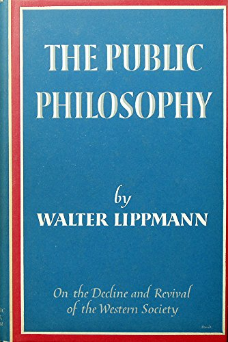 9780451607188: Public Philosophy