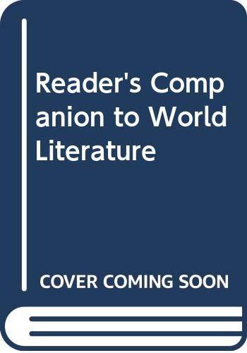9780451607751: Reader's Companion to World Literature