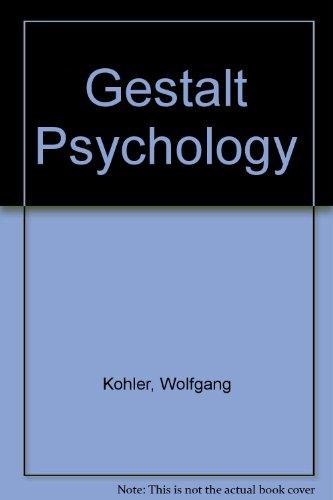 9780451611321: Gestalt Psychology [Mass Market Paperback] by Kohler, Wolfgang