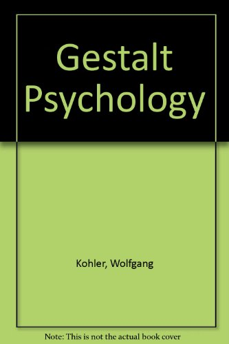 9780451613028: Title: Gestalt Psychology