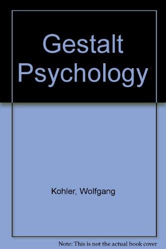 9780451614322: Gestalt Psychology