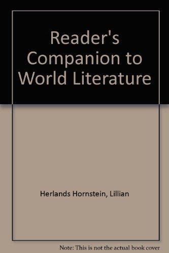 9780451614889: Reader's Companion to World Literature