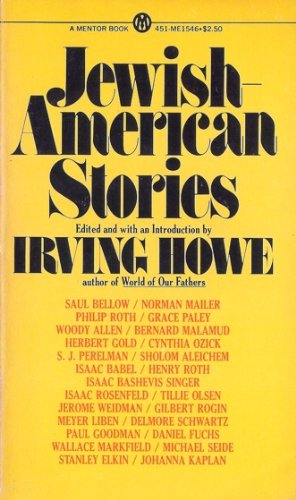 9780451615466: Jewish-American Stories (A Mentor book ; ME 1546)