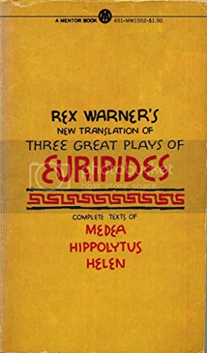 9780451615527: Three Great Plays of Euripides