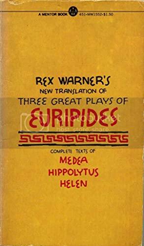 Three Great Plays of Euripides: Euripides