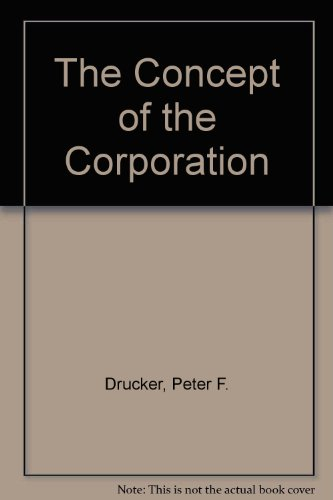 9780451616371: The Concept of the Corporation