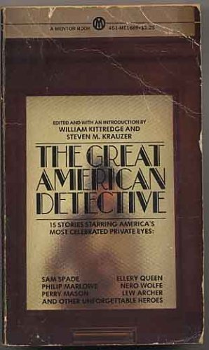 9780451616890: The Great American Detectives (Mentor Books)