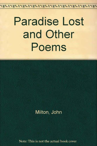 9780451617064: Paradise Lost and Other Poems