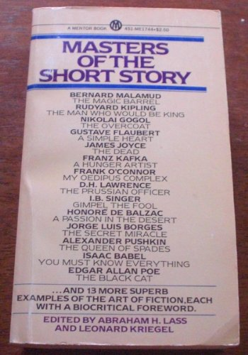 9780451617446: Masters of the Short Story