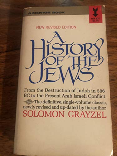 9780451617460: A History of the Jews