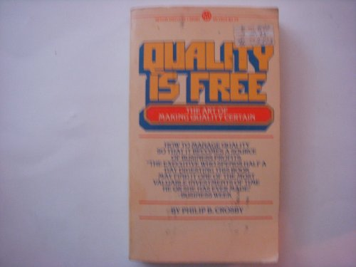 9780451618047: Quality Is Free (Mentor Series)