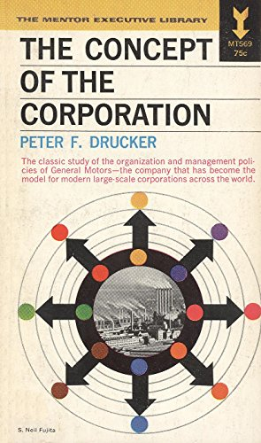 9780451618207: The Concept of the Corporation:
