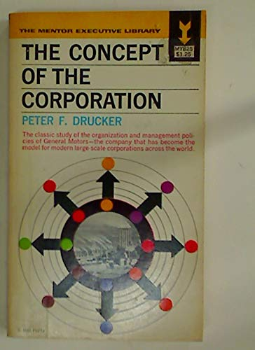 9780451618207: The Concept of the Corporation