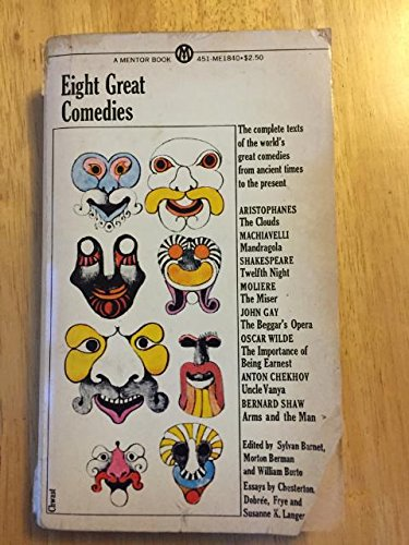 9780451618405: Eight Great Comedies