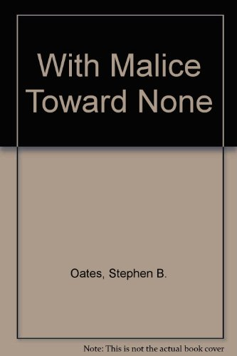 9780451619327: With Malice Toward None