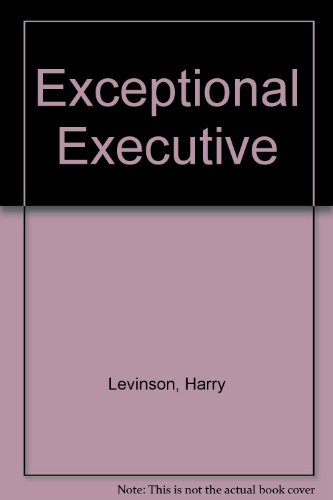 9780451619402: The Exceptional Executive
