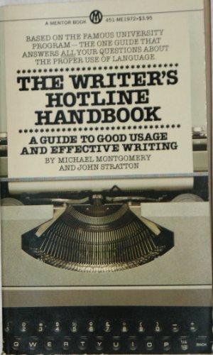 9780451619723: The Writer's Hotline Handbook (Signet Books)