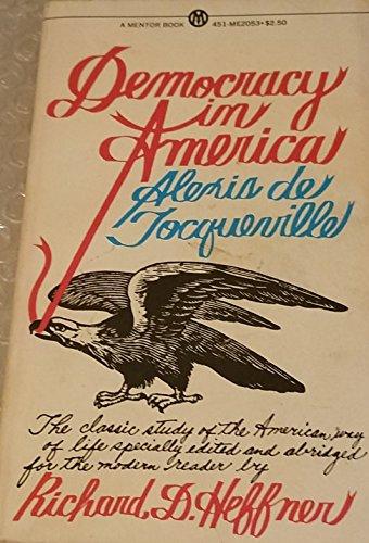 9780451620538: Democracy in America: Abridged Edition