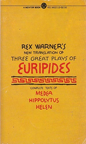 9780451621122: Three Great Plays of Euripides