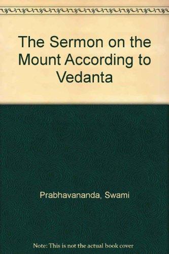 9780451622389: The Sermon on the Mount According to Vedanta