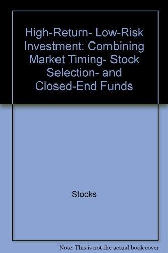 High-Return Low-Risk Investment (Mentor executive library): Hertzfeld, Thomas J.