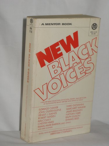 9780451622921: New Black Voices: An Anthology of Contemporary Afro-American Literature