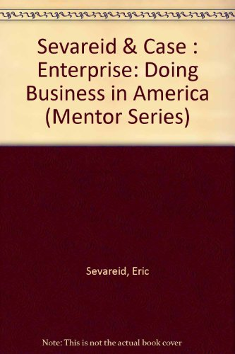 9780451623003: Enterprise: The Making of Business in America (Mentor Executive Library)